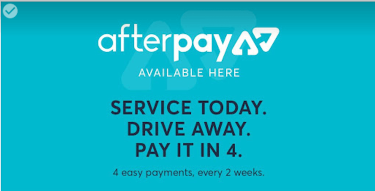 After Pay Now Available